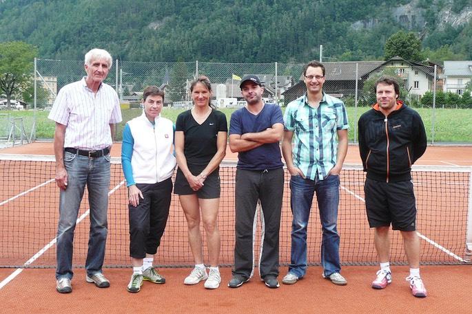 Die erfolgreichen Finalisten (vlnr): Markus Winkler, Pascale Stähli, Marianne Rössler, Danyel Müller, Andreas Infanger und André Neuenschwander.
