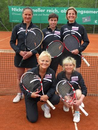 Marianne Rössler, Pascale Stähli und Petra Mischler (oben, vlnr). Margrit Bühlmann und Esther Aeschimann (unten, vlnr).